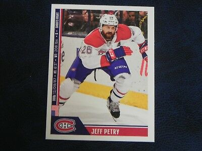 2018-19 18/19 NHL Hockey Panini Stickers #114 Jeff Petry Montreal Canadiens