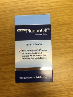 Proden Plaque Off for Humans - New 140 Capsules - Fast Shipping