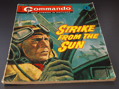 Commando War Comic Number 64!!,1963 Issue,v Good For Age,55 Year Old,v Rare.