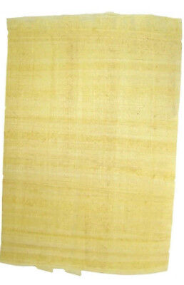 1 Single Egyptian papyrus Plain Paper- Genuine- Blank Sheet-History/Art/craft