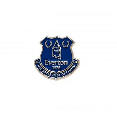 EVERTON FC Crest Pin Badge Official merchandise + Free Postage