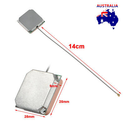 28dB 14cm Car gps antenna gps active remote antenna aerial adapter connector New