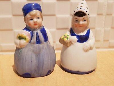 GOEBEL? SALT & PEPPER SHAKERS - Dutch Couple?
