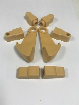 Gravity Catch/Cot Side Fittings 8 Piece Brown or Pine