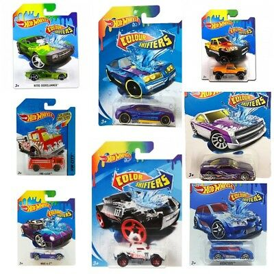 New 2018 Hot Wheels Colour Shifters Bhr15 Choose Your Model 1:64 Assortment