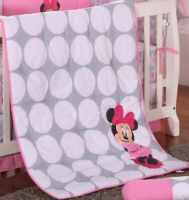 Minnie Mouse de Topos Applique Edredón de Disney Baby