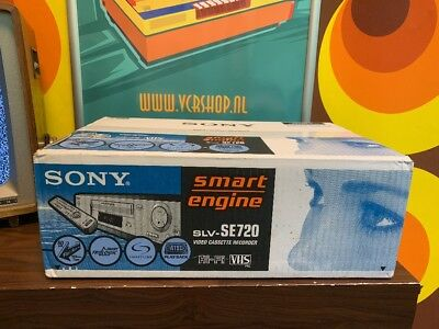 Sony SLV-SE720 Videorecorder R2 Reality Regenerator BOXED & NEW