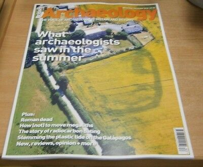 British Archaeology magazine Nov/Dec 2018 What Archaeologists saw in the Summer