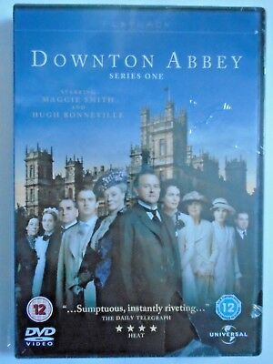 Downton Abbey - The Complete First Series 1 - (NEW SEALED DVD 2010)