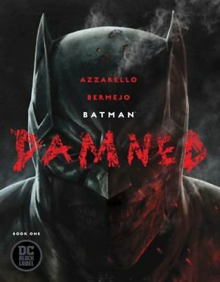 Batman Damned #1 Cover A (DC 2018 Black Label) Uncensored 1st Print RARE NM