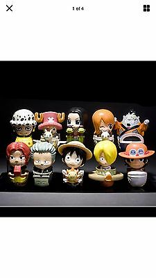 Rare China 2014 McDonald's One Piece Sailing King Doll Toys of 10