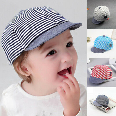 Baby Toddler Kids Peaked Baseball Summer Cap Hat Boys Girls Snapback Cartoon