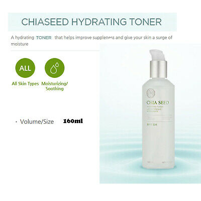 The Face Shop Chia Seed Watery Toner 100+ Lotion 100+ 3 gift items K-beauty Kore