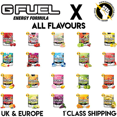 Cheapest Uk Seller Of Gfuel | 40 Servings - Free Delivery+1 Free G Fuel Sachet
