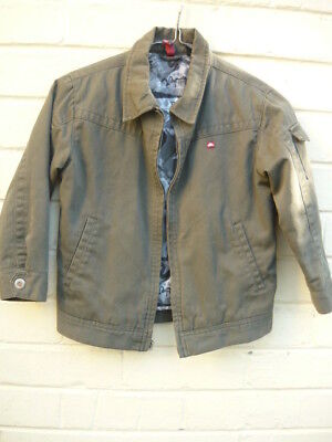 QUIKSILVER boys jacket  Size 5- 6   ~ No Defects ~