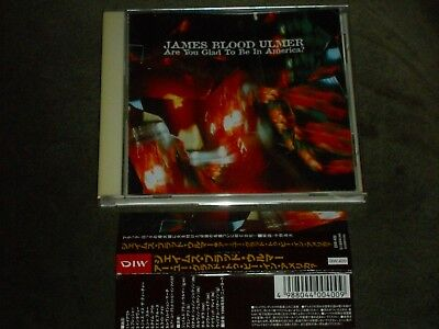 James Blood Ulmer Are You Glad to Be in America? Japan CD David Murray