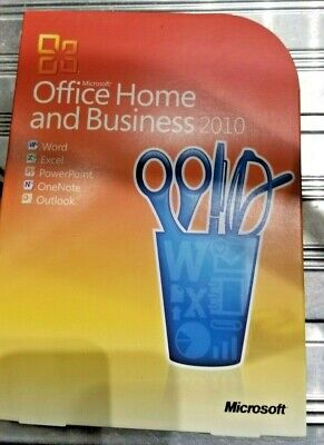 Microsoft Office 2010 Home & Business (Word Excel Powerpoint OneNote Outlook)