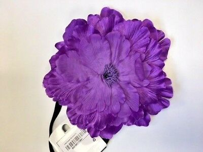 Job Lot Large Purple Flower Hair Band Accessories X 48pcs | Wholesale | Girls