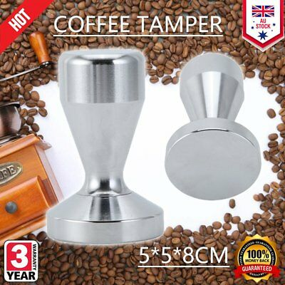 Coffee Tamper 51CM 584g Stainless Steel Polished Tampa Tamp Espresso Barista E3E