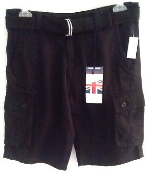 d052840179 ... Pockets Cargo Shorts with Belt 100% Cotton Gray 34. $9.98 Buy It Now  24d 16h. See Details. 1688 REVOLUTION - Men Size