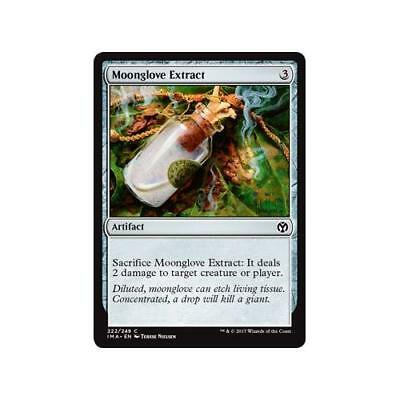 Moonglove Extract Iconic Masters n°222  Foil (Anglais) NM MTG Magic