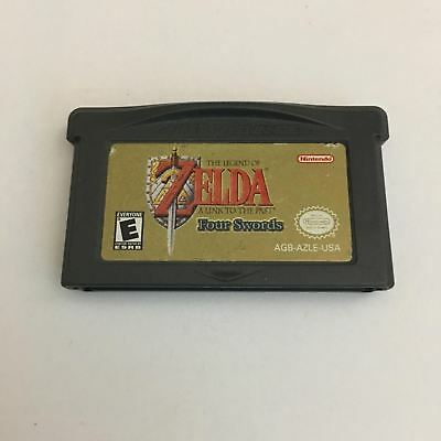 The Legend of Zelda: A Link to the Past Four Swords Game Boy Advance GBA ~ TB