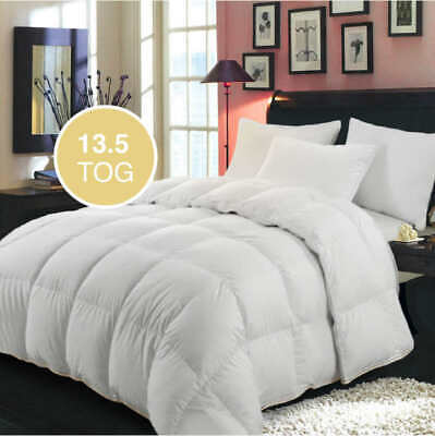Thick Microfiber Duvet 10.5, 13.5, & 15 Tog Supersoft & Warm Quilt Single Double