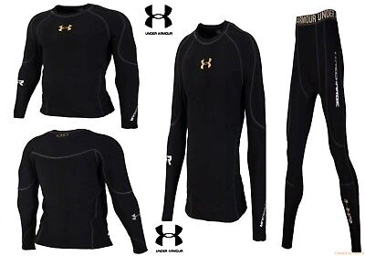 Under Armour Men's Cold-Gear Long Tight and Long Sleeve Compression suit Winter