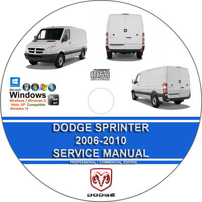 dodge sprinter 2006 2007 2008 2009 2010 service repair manual on cd rh picclick com 2008 Dodge Sprinter Van Specs 2008 Dodge Sprinter Van Specs