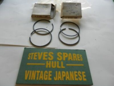 SUZUKI GT250/380 AND X7 0.25 o/s   PISTON RING SETS 12140-33012-025