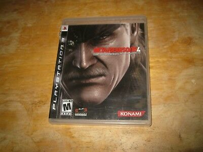 PS3 Metal Gear Solid 4: Guns of the Patriots PlayStation 3