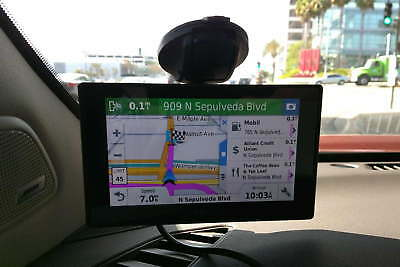 Garmin NUVI DriveSmart 50LMT HD GPS,maps 2019,Free Maps - very good