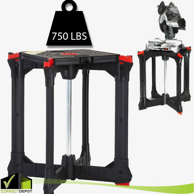 Portable Jobsite Workbench Table Router Stand Insert Plate