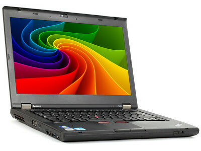 Lenovo ThinkPad T430 Intel i5 2.6GHz 4GB 320GB HDD 1366x768 BT DVD Cam Windows10