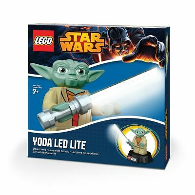 LEGO Star Wars Yoda LED Desk Lamp by Santoki Brand NEW & Factory SEALED