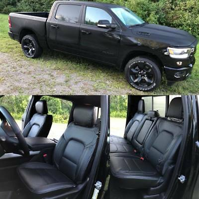 Marvelous 2019 Ram 1500 Big Horn Lone Star Black Katzkin Leather Andrewgaddart Wooden Chair Designs For Living Room Andrewgaddartcom