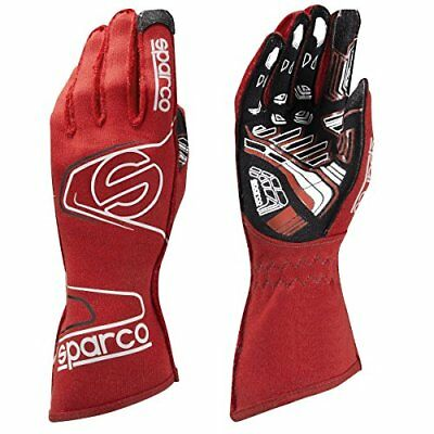 Sparco 00255410RS Arrow EVO KG-7 Series Racing Gloves Red Size 10 Medium