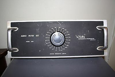 Vintage White Audio Filter model-2590
