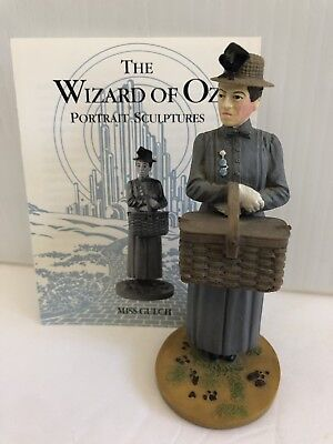 "Franklin Mint Wizard Of Oz Figure...."" Miss Gulch ""...with Card"