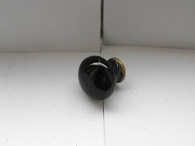 Original Victorian Ceramic and Brass door knob