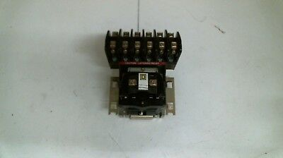 Square D 8501-Hl060, Latching Relay, 120 V Coil @ 60 Hz,