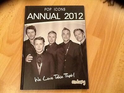TAKE THAT . GARY BARLOW.  2012 ANNUAL  NEW unused COLLECTORS CONDITION