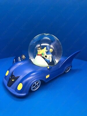 "DC Comics Batman ""Batmobile"" Snow Globe - Resin Figurine By Westland Giftware"