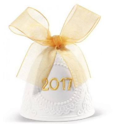 Lladro 2017 Annual Christmas Bell #18426 NEW IN BOX