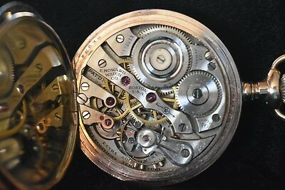 16s E.Howard 21jewel Pocket Watch Railroad Grade, series 10