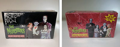 The Munsters Series 1, Series 2 - Lot of 2 Sealed Trading Card Hobby Boxes