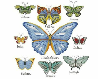 Butterfly Collection  - Cross Stitch Chart