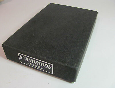 "Standridge Granite Inspection Surface Plate 12"" X 8 """