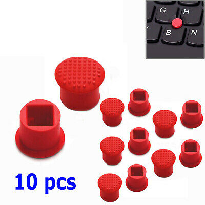 10X IBM Lenovo Thinkpad TrackPoint Cap Soft Dome T410 T420 T430 T510 T520 RED US