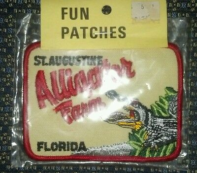 St.augustine Florida Alligator Farm Patch